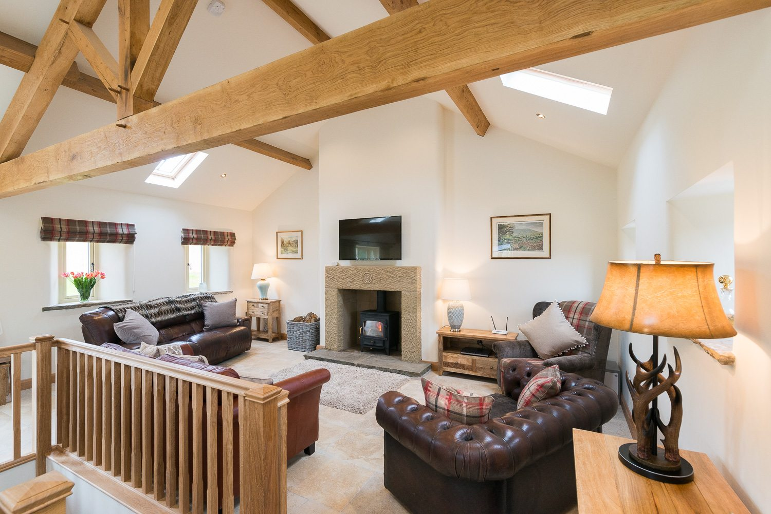 Ribble Valley Holiday Cottages Granary Lounge