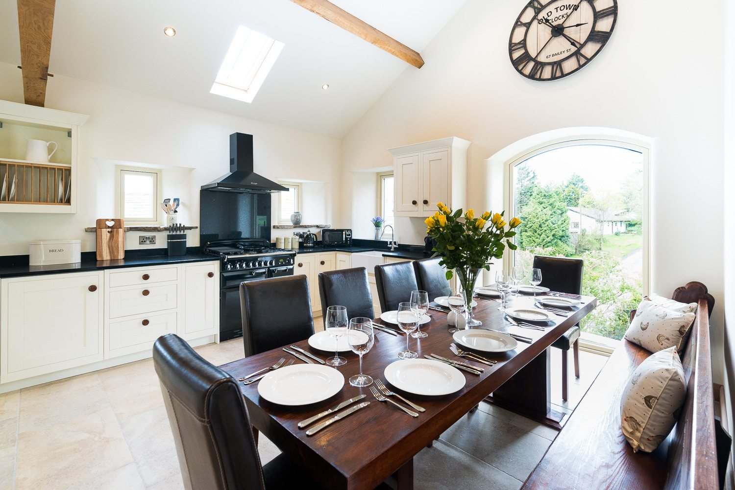 Ribble Valley Holiday Cottages Granary Kitchen