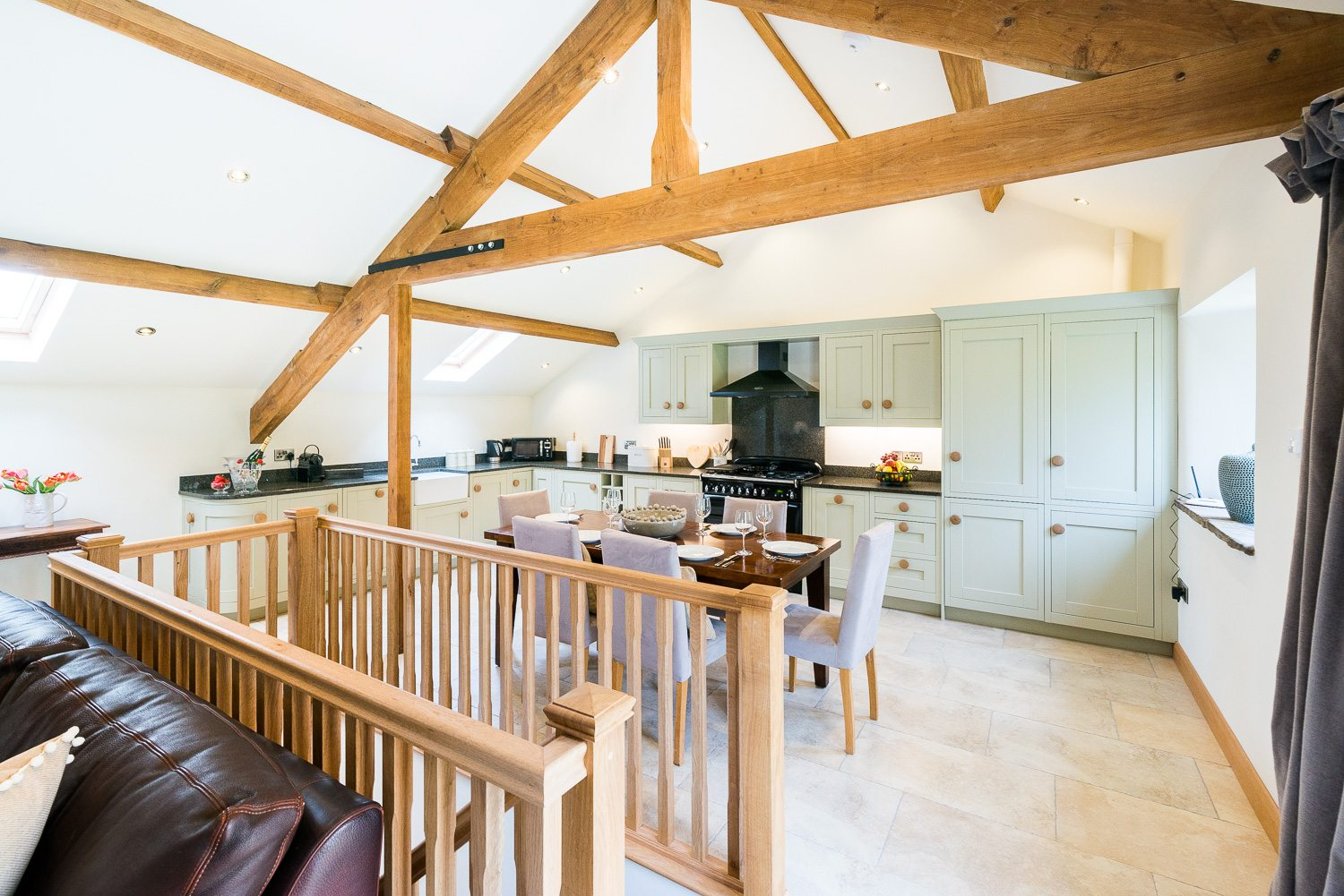 Ribble Valley Holiday Cottages Fellside kitchen